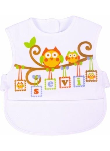 Sevi Bebe Sevi Bebe Lüks Giymeli Önlük rengi Kahve